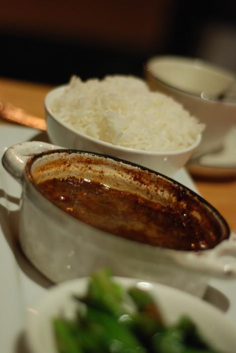 "Good Girl's ""Vietnamese Pork Confit"" with White Rice"