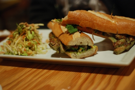 Good Girl DInette Chicken Banh Mi