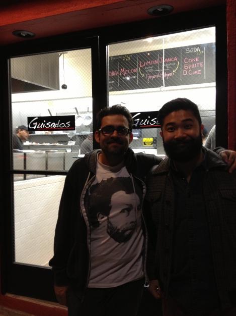 Stu and Thu at Guisado's