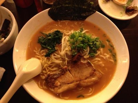 """Silverlake Ramen's """"Tonkotsu Spicy Ramen"""""""