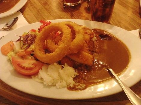 The Chicken Thigh Katsu Curry at Curry House