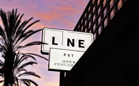 The Line Hotel on Wilshire