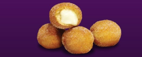 Cinnabon Delights - Taco Bell Breakfast Menu