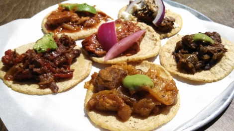 The Guisado's Tacos Sampler Combo