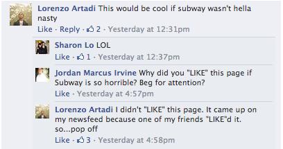 Subway is Hella Nasty