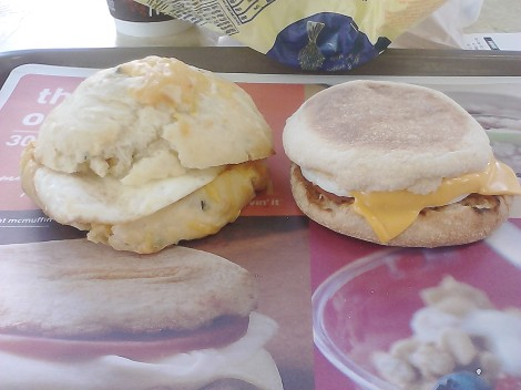 Semisweet McFong vs. McDOnalds McMuffin