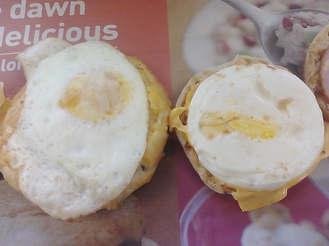 The eggs McFong McMuffin