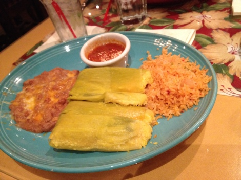 The Green Corn Tamales