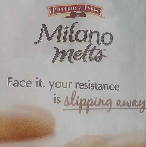 Milano Melts Tagline