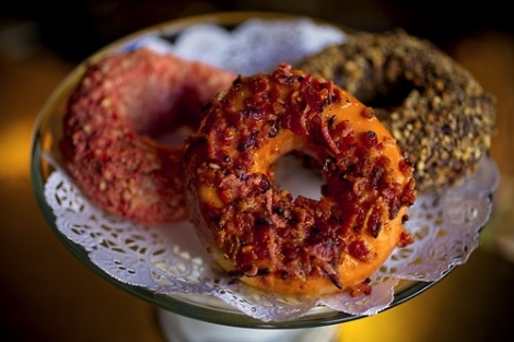 Celebrate National Donut Day at Nickel Diner.