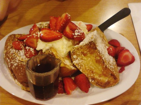 Aloha hawaiian french toast