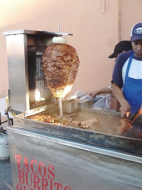 That La Reyna meat spit.