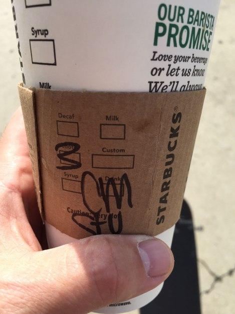 Starbucks Gold Card Venti Drink