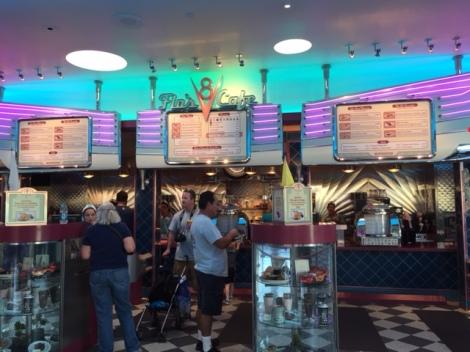Flo's V-8 Cafe line
