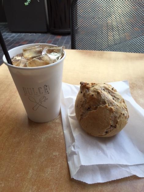 Vietnamese Coffee and Tapioca Roll
