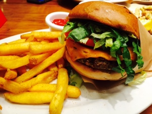 Veggie Grill Bad Boy Burger
