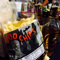 BOO CHIPS AND BUTTERSCOTCH BEER, SCARY GOOD