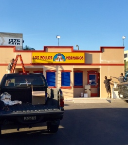 Los Pollos Hermanos in progress